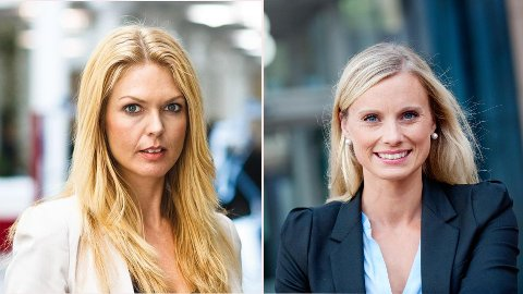 Forbrukerøkonomene  Silje Sandmæl (til venstre) og Elin Reitan gir nyttige økonomiske råd ved skilsmisse og samlivsbrudd
