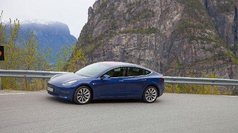 TESLA MODEL 3: Fremstår som det beste bilkjøpet du kan gjøre for tiden.