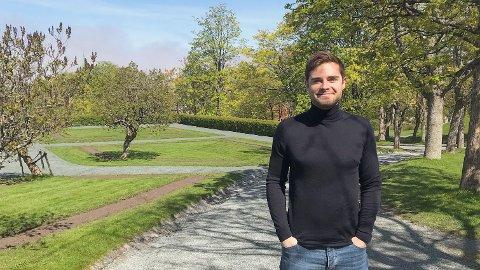 Studenten August Németh Winther (25) blir sjef for 6000 ansatte i sommerjobben.