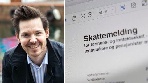 BØR IKKE BETALE FOR MYE: Martin Graftås, spare- og investeringsøkonom, anbefaler ikke folk å betale inn ekstra i skatt.