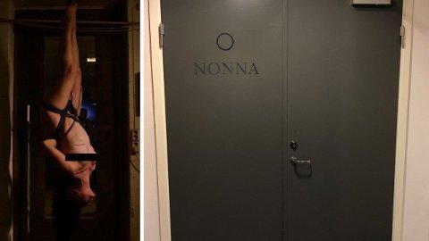 På innsiden av denne døren leker Oslo BDSM seg hver tirsdag.