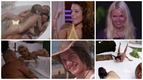 NAKENSCENER OG KULEKNUSING: I elleve sesonger har Paradise Hotel gitt oss uforglemmelige øyeblikk med alt fra nakenscener til kuleknusing og latterkick.