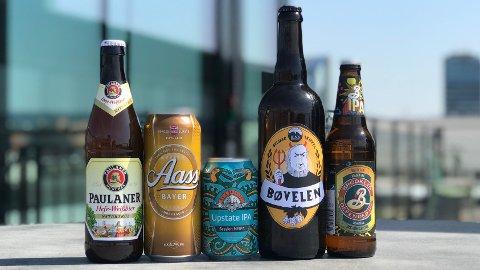 Ølekspert Espen Smith anbefaler øl som kler både varme sommerdager og kjøligere aftener rundt et festdekket bord i hagen.