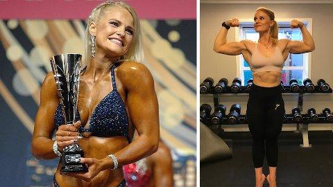 Hanne Lulu Holst (30) fra Tønsberg stiller i klassen Womens Bodyfitness i NM 2019. Hun går for seier.