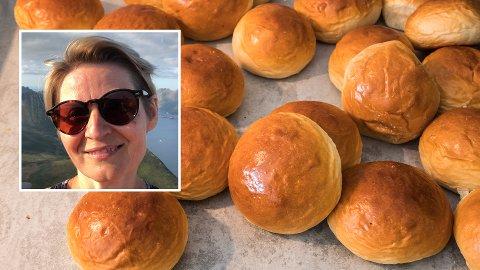 HARDT: Randi Anita Solheim synes det var hardt å kutte ut sukker, men synes det er verdt det - til tross for at hun digger boller.