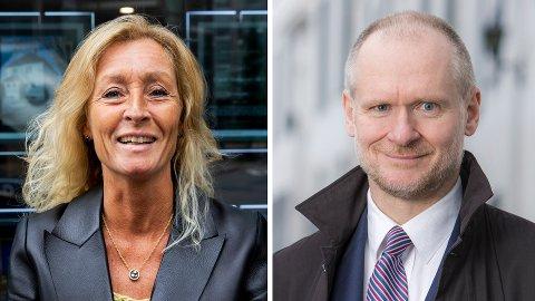 FLERE VALG: Det er mange gode pendlerstrøk utenfor Oslo, og Grethe Wittenberg Meier i Privatmegleren og Henning Lauridsen i Eiendom Norge trekker fram mange eksempler.