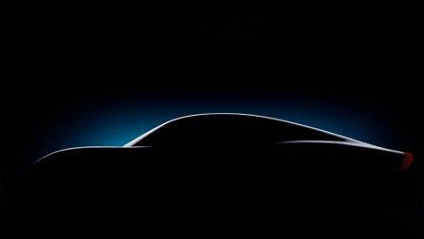 Mercedes' konsept-elbil Vision EQXX skal få en rekkevidde på 1200 km. Disse tegningene er det eneste Mercedes har avslørt av bilens eventuelle design.