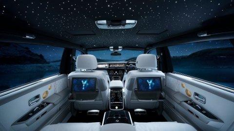Slik kan det se ut i en Rolls-Royce Phantom. Nå har den britiske luksusbilprodusenten bestemt seg for at de skal lage elbil også.