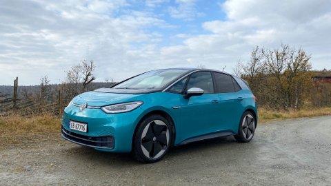 Volkswagen utvider modellutvalget sitt av ID.3. ID.3 Pure Performance City har startpris på 299.000 kroner.