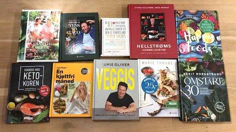 Nettavisen har anmeldt de ti største kokebok-utgivelsene i 2020. To bøker skiller seg klart ut.