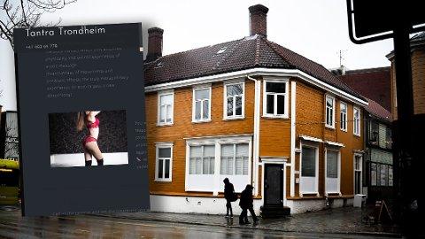 Fra disse lokalene i Fjordgata skal flere utenlandske kvinner tilby tantramassasje til menn - mot betaling.