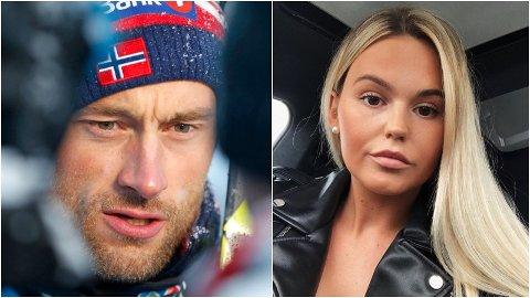 - VI ER VENNER: Petter Northug og Charlotte Johanne Haugen fra Malangen ferierte i forrige uke i Sverige.