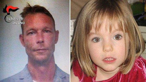 Madeleine McCann var nesten fire år da hun forsvant fra familiens feriebolig i Praia da Luz i Portugal den 3. mai i 2007. Christian Brückner er mistenkt for å ha stått bak.