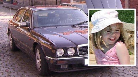 SENTRAL: Denne bilen knyttes til Madeleine McCann-forsvinningen.