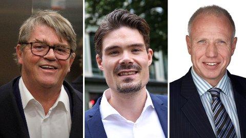 EKSPERTER: Aksjeekspertene Jan Petter Sissener (til venstre), Mads Johannesen i Nordnet og Kristian Tunaal i Alfred Berg Kapitalforvaltning har alle gode råd til hvor du bør investere pengene dine.