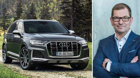 SATSER: Audi investerer store summer i nye bensin- og dieselmotorer – som skal leve videre i lang tid. Det forteller administrerende direktør i Audi, Markus Duesmann.
