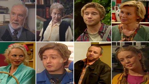 SLIK VI HUSKER DEM: Det er gjerne slik karakterene i TV-serien De syv søstre blir husket.