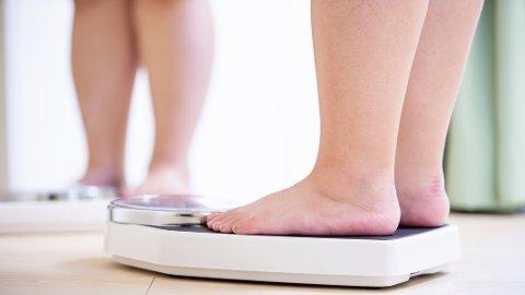 HELSEEFFEKT: Det er fettet på magen som er dårligst nytt for helsa, men bare litt vektnedgang vil ha stor betydning.
