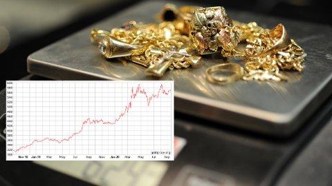 Kostbart: Har du gamle gullsmykker liggende i skuffer og skap kan du få en god pris hvis du selger nå. Samtidig kan gull være et godt investeringsobjekt.
