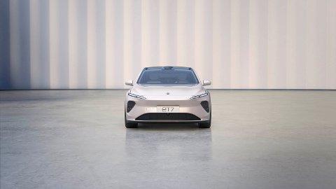 TEKNOLOGISK FLAGGSKIP: Firehjulstrekk, massiv rekkevidde, lekkert design, 32 sensorer for kjøreassistanse og en startpris tilsvarende 590.000 kroner i hjemlandet Kina. Det er duket for suksess når denne kommer til Norge.