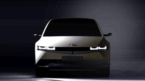 I februar skal denne bilen ha verdenspremiere: Ioniq 5 er først ut i en stor elektrisk satsning fra Hyundai.