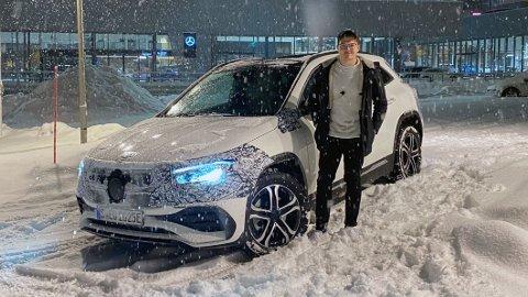 NY ELBIL I NORGE: Startprisen på innstegsmodellen av Mercedes EQA blir 408.000 kroner. Det er slett ingen upris.