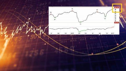 God stemning: Investorene på Oslo børs er mer optimistiske enn på lang tid. Det får mange til å tenke at en korreksjon kan være på vei.   Flere eksperter oppfordrer nå til varsomhet.
