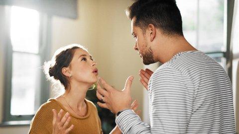 HELSEFARLIG: Å krangle er ikke farlig, men det å leve i et dårlig parforhold er. Det kan gå utover helsa.