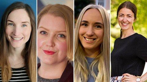 God avkastning: Lise Vermelid Kristoffersen (f.v.), Siw Slevigen, Ingeborg Bern Egeland og Kjersti Grønseth har alle hatt god avkastning på aksjefond. De trekker fram en fondstype spesielt.
