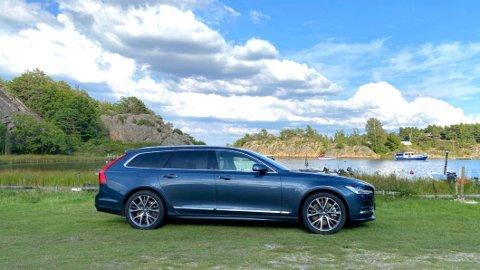For ett år siden tok det i gjennomsnitt 120 dager å selge denne bilen, Volvo V90 T8. Nå har dette gått ned til så lite som 20 dager. Det sier mye om utviklingen i bruktbilmarkedet.