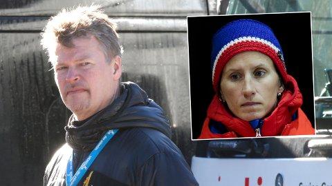 FYRTE OPP: Tomas Pettersson mente at Bjørgen var ferdig som langrennsdronning. Så slo hun kraftig tilbake.