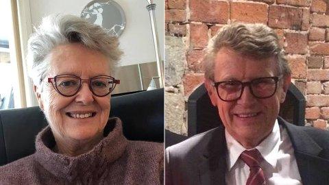 DREPT: Liv Berit Borge (75) og Gunnar Erling Sauve (75) ble drept på Kongsberg onsdag 13. oktober.