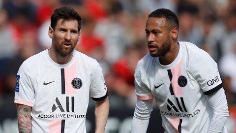 STJERNEDUO: Lionel Messi og Neymar spiller sammen for andre gang i karrieren, etter tiden i Barcelona.