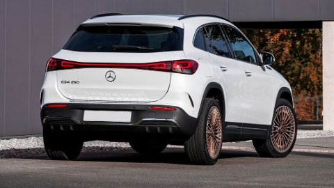 Nye Mercedes EQA har fått en knallstart i Norge. Nå er lanseringsmodellen allerede sluttsolgt.