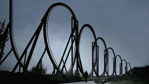 Dødens berg- og dalbane: Ingeniør Julijonas Urbonas har designet «Euthanasia Coaster». Berg- og dalbanen skal drepe alle som setter seg i den.