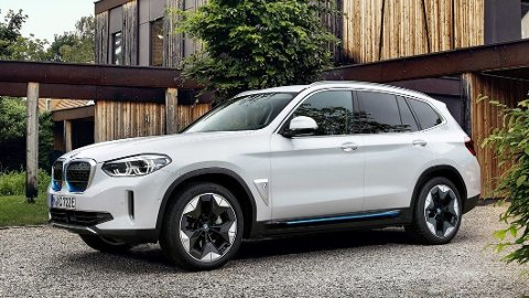 iX3 er første elektriske SUV fra BMW. Den imponerer i NAF og Motors test av rekkevidde på vinteren.