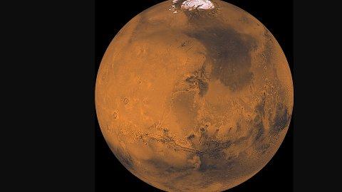 UNDERSØKT: Mars er den planeten i solsystemet vårt som er mest undersøkt, og den eneste hvor vi har sendt rovere.