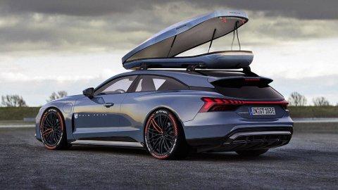 Blir dette Audis oppfølger til nye e-tron GT?