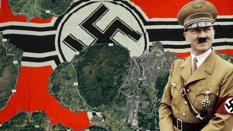 NEU DRONTHEIM: Det brede elvedeltaet Øysand i Gaula sørvest for Trondheim ble pekt ut som et ideelt sted for den topphemmelige elitebyen Hitler planla å anlegge i Norge. Her skulle for øvrig ingen nordmenn bo.