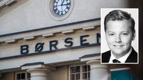 OLJE: Fearnley-analytiker Gustaf Amlé tror på lysere tider for norsk sokkel og riggsektoren.