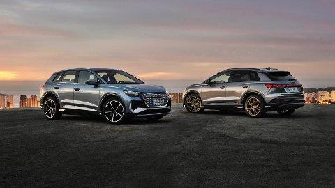 Her er den: Nye Audi Q4 e-tron har akkurat hatt verdenspremiere.