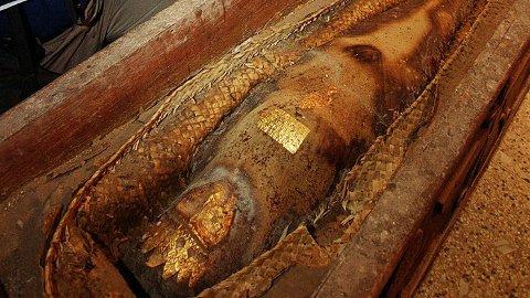 FUNNET: I 2000 ble det oppdaget en mumie hos en person i Karachi i Pakistan, som de neste månedene skapte kaos.