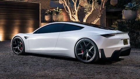 Nye Tesla Roadster skal etter planen settes i produksjon neste år. Nå bekreftes det at topputgaven skal klare 0-96 mph på 1,1 sekund.