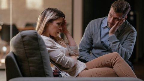 BRUDD: Noen perioder i livet øker risikoen for brudd, og særlig en årsak går igjen når kvinnen forlater mannen sin.