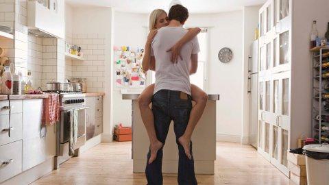 HJEMMEKONTOR: Flere norske par har utnyttet friheten på hjemmekontoret og hatt sex i arbeidstiden.