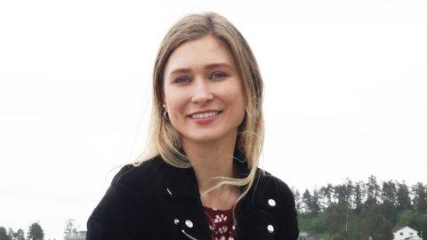 TJENER GODT: Caroline har jobbet offshore som boreoperatør i elleve år. Drømmen er å bli boresjef og «sjefe» over alle gutta på jobb.