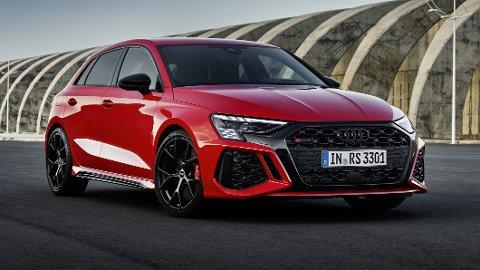 NY GENERASJON: Denne har mange ventet lenge på. Endelig er en helt ny generasjon Audi RS 3 offisiell.