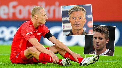VENTER SEG BRANN-DUELL: Hverken Mjøndalen-trener Vegard Hansen eller Mjøndalen-kaptein Christian Gauseth vil avskrive Brann.