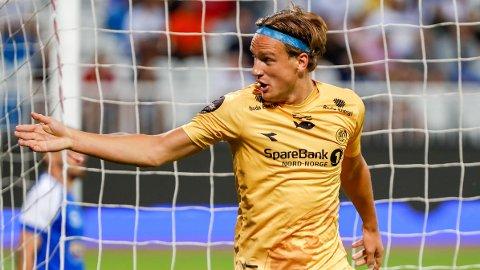 HELTEN: Erik Botheim scoret begge målene da Bodø/Glimt tok seg videre i Europa.