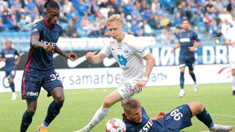 TAPTE: Ola Brynhildsen og Molde røk ut av Conference League etter straffesparkkonkurransen mot Trabzonspor.